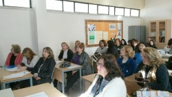 Teachers of the experimental group share their work during Teachers' Days annual event in Cyprus